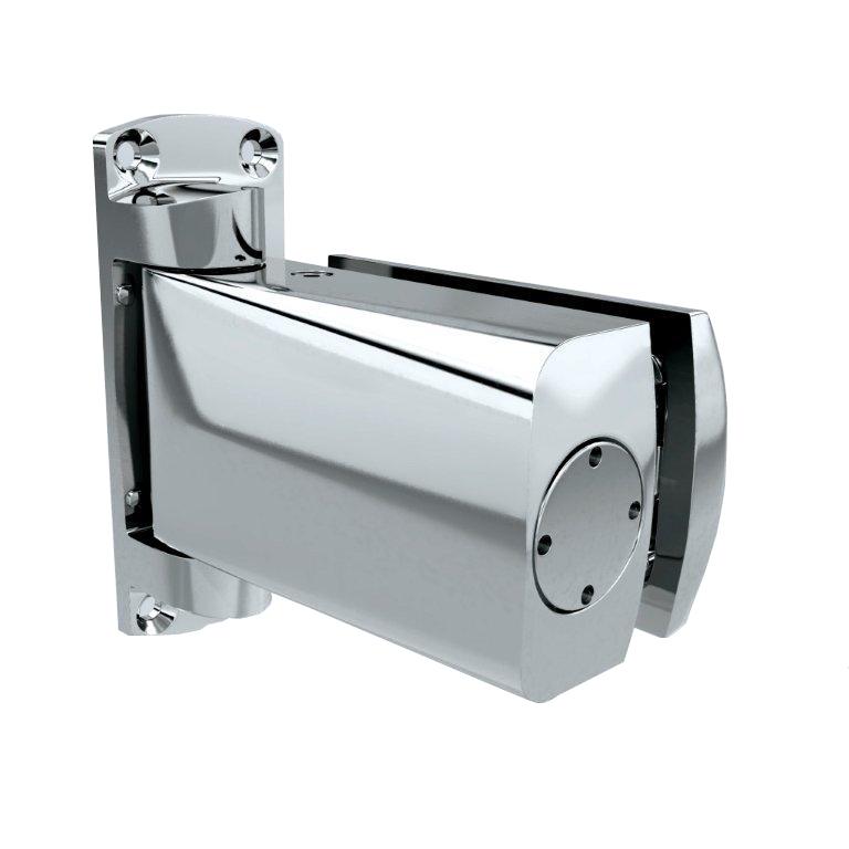 Biloba 8060BT Hydraulic Shower Hinge – Glass Wall