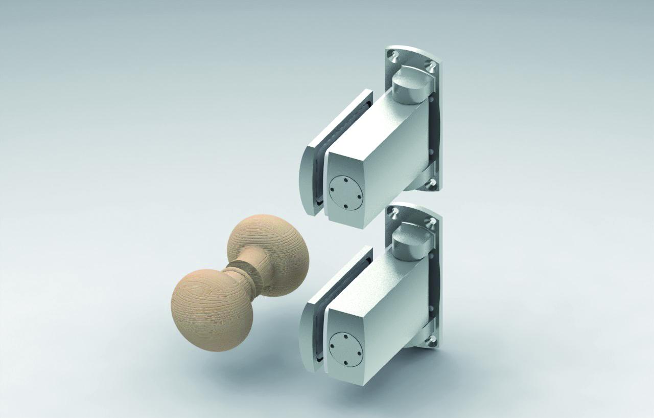 KSN8060 Sauna Kapıları İçin Hidrolik Set