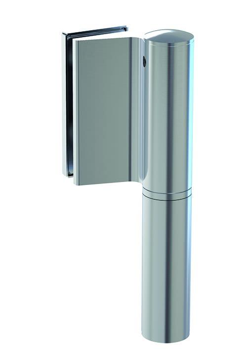 Biloba Evo Hydraulic Glass Door Hinge – Wall-Glass